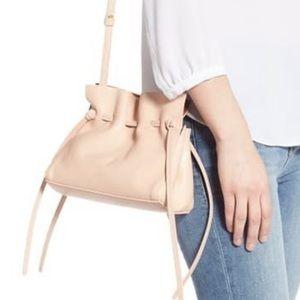 Mansur Gavriel mini lambskin drawstring bag $595